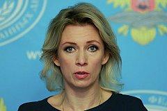 Захарова: через Фейсбук распространяют ложь о России