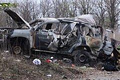 В ЛНР подорван автомобиль ОБСЕ. Есть жертвы.