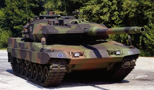 Немецкий танк «Леопард-2»