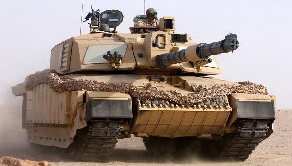 Английский танк «Челленджер»