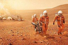 Американцы предложили производить кирпичи на Марсе