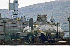 Новейшая российская субмарина для Арктики