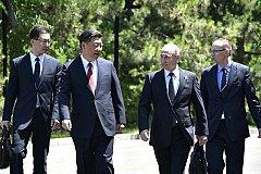 Путин и Си Цзиньпин встретились на форуме «Один пояс — один путь»