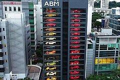 15-этажный вендинговый автомат по продаже Bentley и Ferrari открыли в Сингапуре