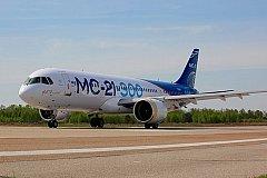 Свой первый полет совершил лайнер МС-21