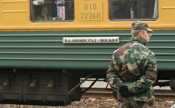 ВЛитве сняли споезда группу российских военных