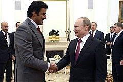 Состоялся разговор Путина с эмиром Катара