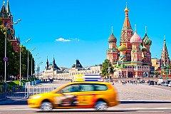 Раскраска у московского такси будет только жёлтого цвета