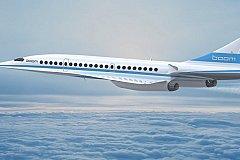 Сверхзвуковой самолет Boom. Десятки заказов на преемника Concord.