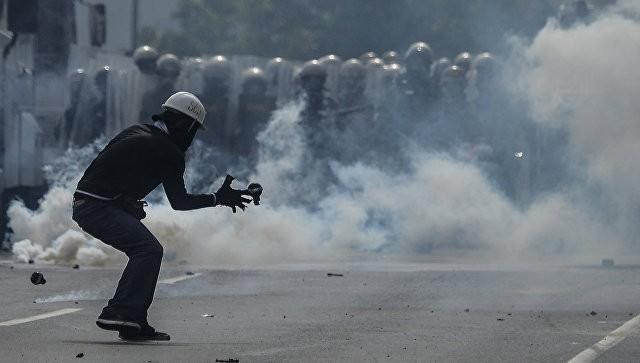 Полицейский вертолет обстрелял вВенесуэле строение МВД исуда
