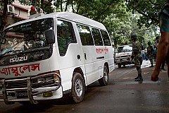 Взрыв в Бангладеш. Есть жертвы. ФОТО