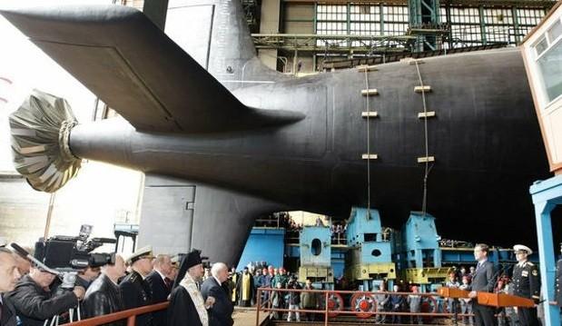 Подводная лодка проекта «Ясень». Фото: nplus1.ru