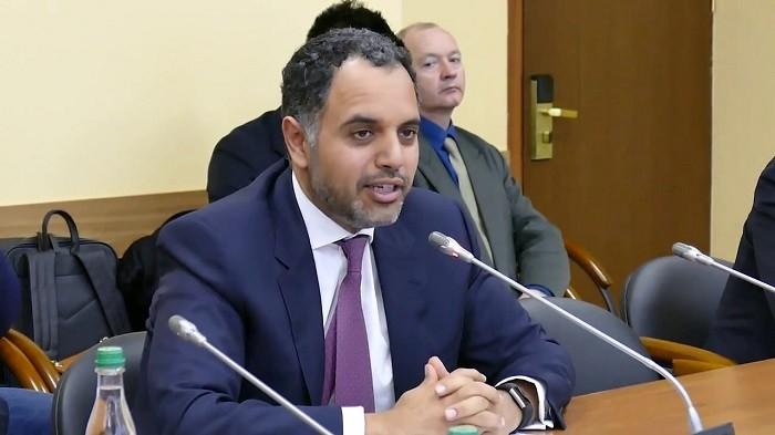 Посол Катара в Российской Федерации Фахад Мухаммед аль-Аттыйя. Архивное