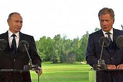 Президент России прибыл с официальным визитом в Финляндию