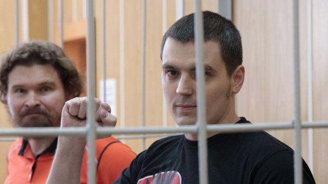 Валерий Парфенов и Александр Соколов. Фото: bbc.com