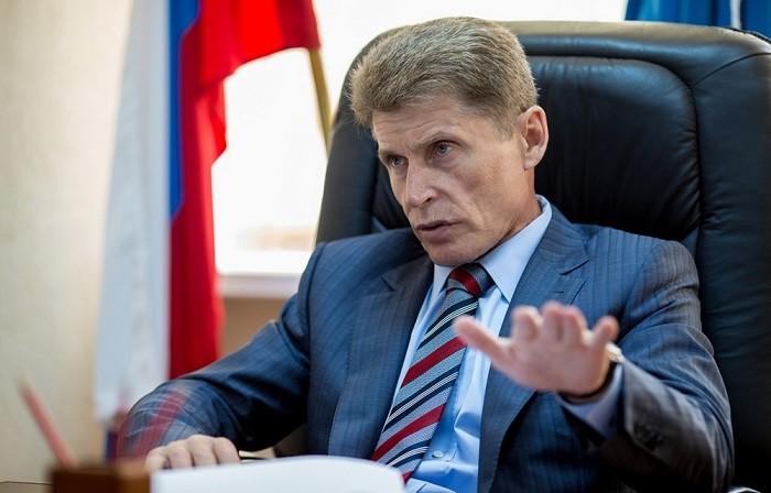 Губернатор Сахалина Олег Кожемяко. Фото:  sakhalin.info