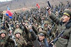 Более 3,5 млн человек записались в армию КНДР после обострения с США