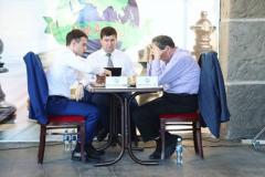 На самой высокой смотровой башне Северного Кавказа завершили международный шахматный турнир