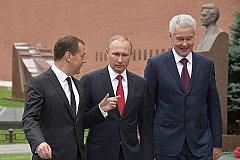 Следующие после Путина - Медведев и Собянин