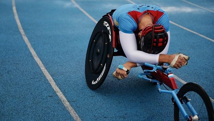 Спортсмен-паралимпиец. Архивное фото.