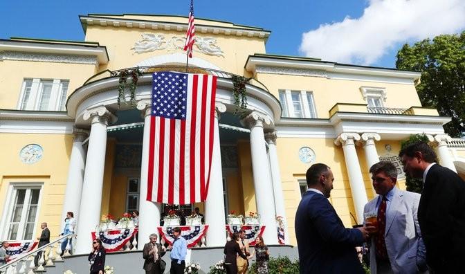 Резиденция американских послов в Москве. Фото: ТАСС