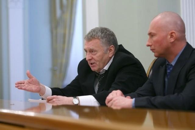 Игорь Лебедев и Владимир Жириновский. Фото: Government.ru