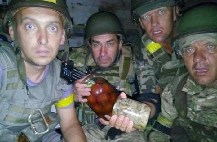 «Правый сектор» обстрелял позиции ВСУ под Авдеевкой вДНР