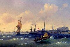 Картину Айвазовского выставили на аукционе в Швейцарии