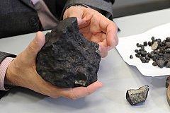 В Китае продают куски метеорита