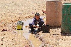 Лагерь беженцев в Сирии голодает