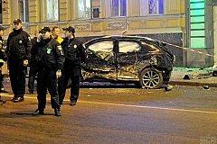 На месте смертельного наезда в Харькове исчезла женщина