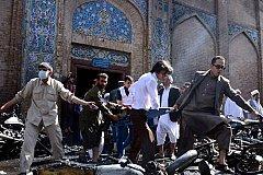 Мощный взрыв в мечети Кабула убил десятки прихожан