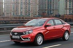 LADA Vesta одна из самых популярных машин в России