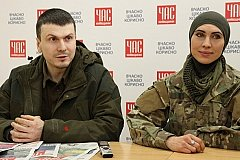 На Украине ранили чеченца Адама Осмаева, а его жену Амину Окуеву убили