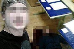 Селфи с трупом: студент фотографировался с убитым преподавателем