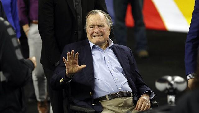 Экс-президент США Джордж Буш-старший. Фото: ria.ru