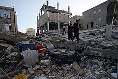 Более двухсот человек погибли при землетрясении в Иране