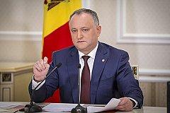 Додон о вхождении Приднестровья в структуру Молдавии