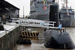 Субмарина аргентинских ВМС долгое время не выходит на связь