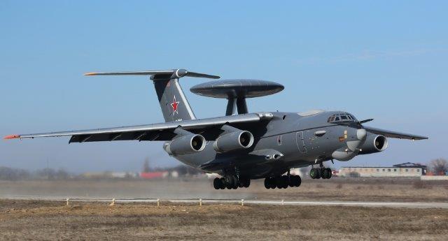 Русский самолет-разведчик А-100 совершил 1-ый полет