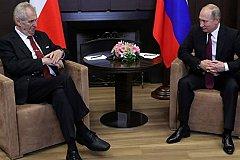Земана не устраивают как антироссийские санкции ЕС, так и ответные России
