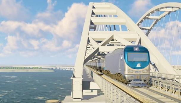 Крымский мост хотят связать прямой железной дорогой сСимферополем