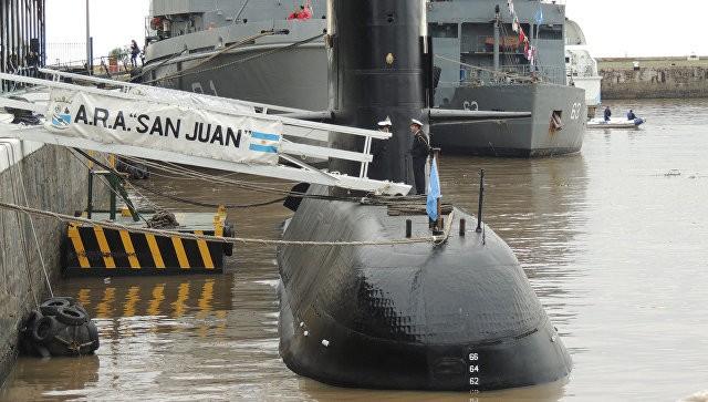 Подводная лодка «Сан-Хуан» ВМС Аргентины. Фото: ria.ru