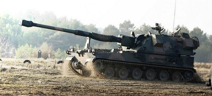 Польская 155-мм САУ «Krab»