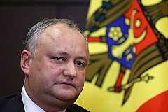 Полномочия президента Додона приостановлены конституционным судом Молдавии