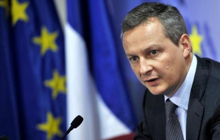 Глава Министерства экономики и финансов Франции Бруно Ле Мэр