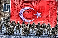 Турецкая армия приведена в полную боеготовность