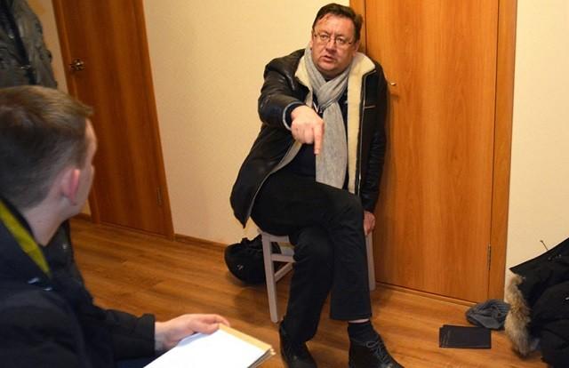 Министр сельского хозяйства Забайкалья Михаил Кузьминов во время задержания. Фото: НТВ