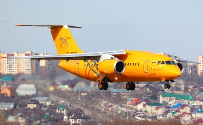 Ан-148 Саратовских авиалиний. Фото: ato.ru