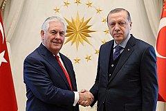 В Анкаре проходит закрытая встреча Эрдогана и Тиллерсона